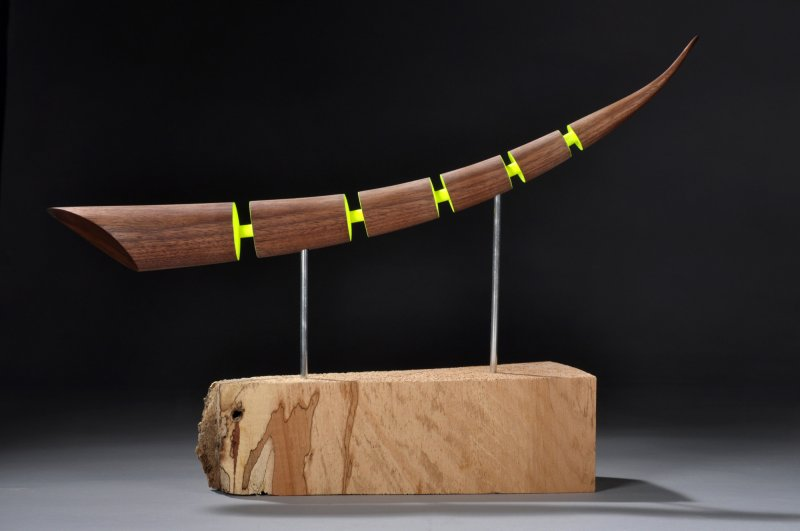 Collectors of wood art news detail for Ron dowling home designs