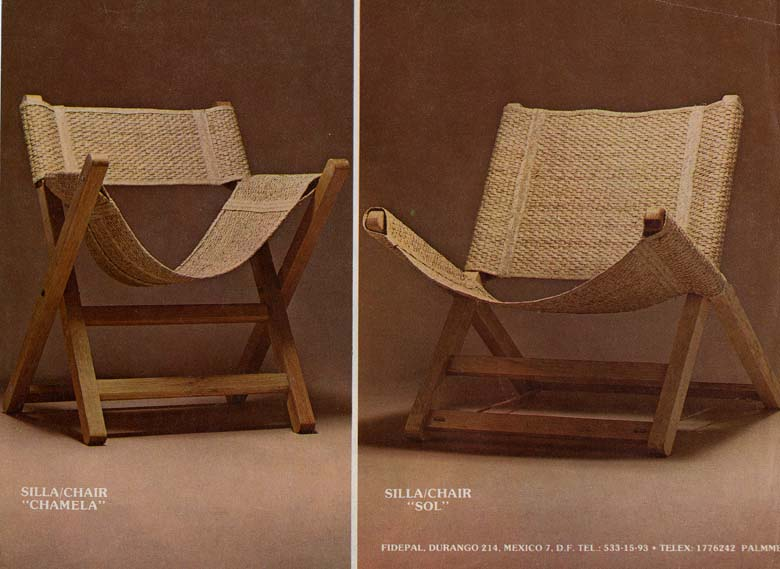 Designed In Mexico And Made In An Abandoned Rural Cooperative. First Prize  In The Mexican Competition For Affordable Furniture